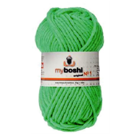 Neon Green 184 - Wool Balls 50g For DMC Myboshi Beanie Hats